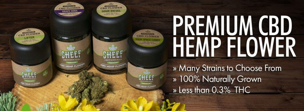 Cheef Botanicals Premium CBD Flower